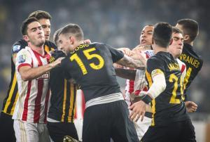 ΑΕΚ – Ολυμπιακός: Δύο αγωνιστικές σε Ένγκελς και Τσόσιτς!