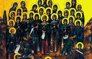Γιορτή σήμερα: Ποιές είναι οι Αγίες Τεσσαράκοντα Παρθένες