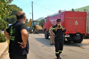 Ζάκυνθος: Αιφνιδιαστική επίσκεψη Τόσκα στα καμένα