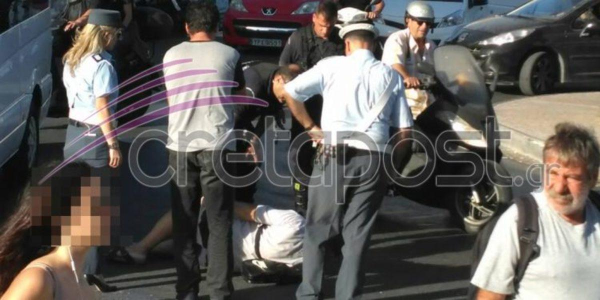 Κρήτη: Τροχαίο ατύχημα πριν την ομιλία Τσίπρα [pics] | Newsit.gr