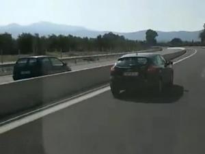 Μεσσηνία: Οδηγός έσπειρε τον τρόμο – Πήγαινε ανάποδα στην εθνική! [vid]