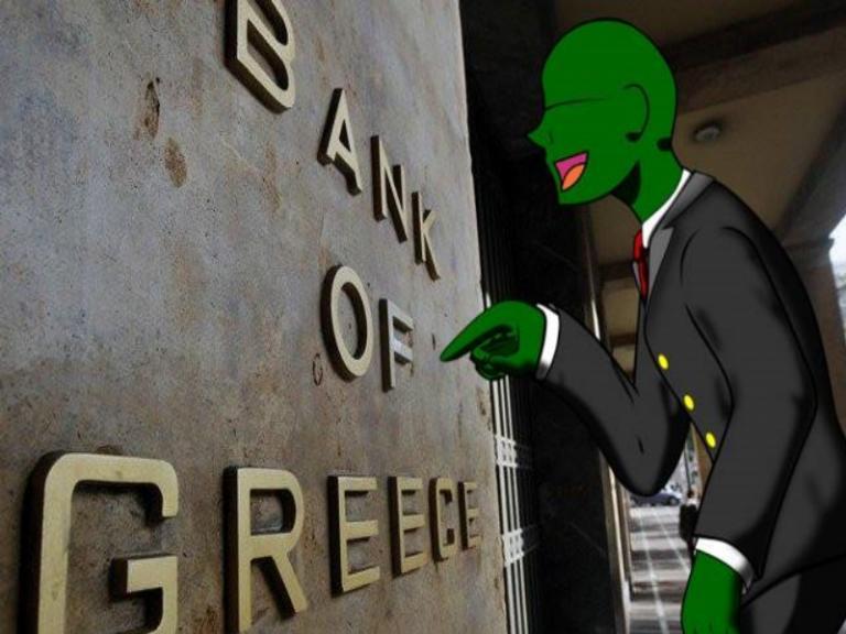 Anonymous Greece: Τι απαντά η Τράπεζα της Ελλάδος | Newsit.gr