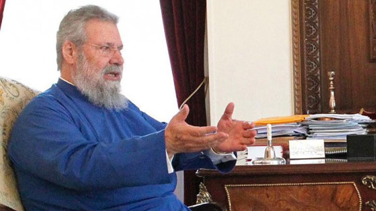 Σάλος με τον Αρχιεπίσκοπο Κύπρου! «Όπως και να το πω, η ομοφυλοφιλία είναι ανωμαλία» [vid] | Newsit.gr