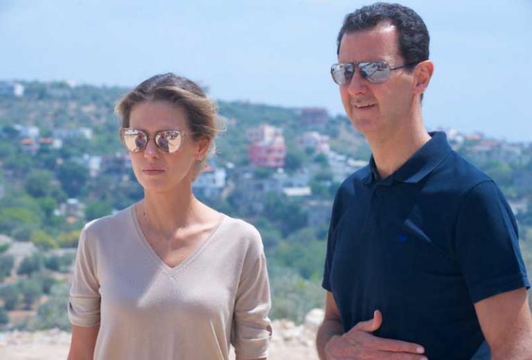 Ξεμύτισε ο Άσαντ – Η σπάνια εμφάνιση | Newsit.gr