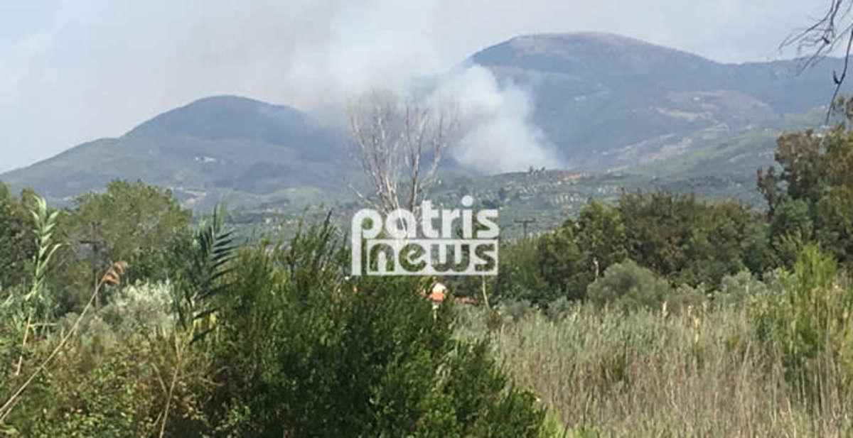 Μεγάλη φωτιά στην Ηλεία! Μπήκε στο χωριό και έφτασε σε σπίτια! | Newsit.gr
