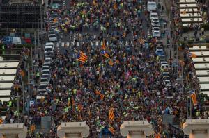 Καταλονία – Δημοψήφισμα: Ούτε βήμα πίσω! [pics]