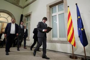 Καταλονία: Κίνηση ματ από Πουτζδεμόν – Προκηρύσσει εκλογές στις 20 Δεκεμβρίου