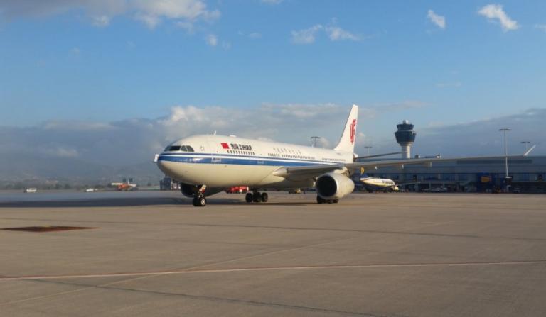 Air China: Πρώτη, ιστορική πτήση με Μπέτυ Μπαζιάνα!