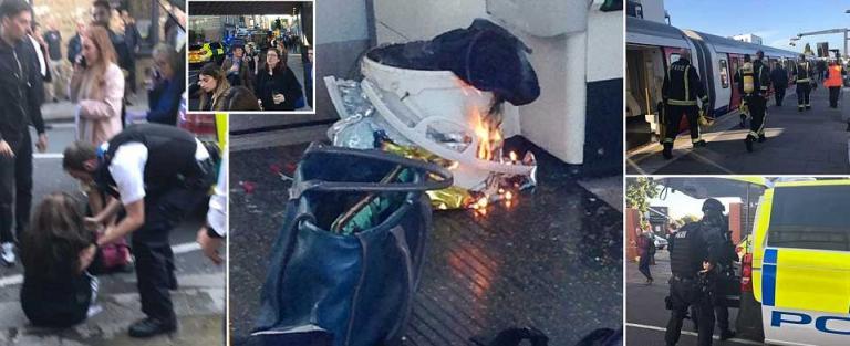 Λονδίνο: Έκρηξη σε τρένο – Πανικός και τραυματίες | Newsit.gr