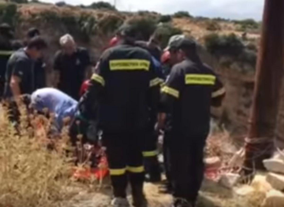 Ρέθυμνο: Η απίστευτη ιστορία του άντρα που κρεμάστηκε σε κλαδί και σώθηκε από θαύμα [pics, vid] | Newsit.gr