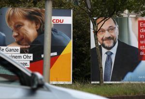 Γερμανικές εκλογές: Ντιμπέιτ Μέρκελ – Σουλτς