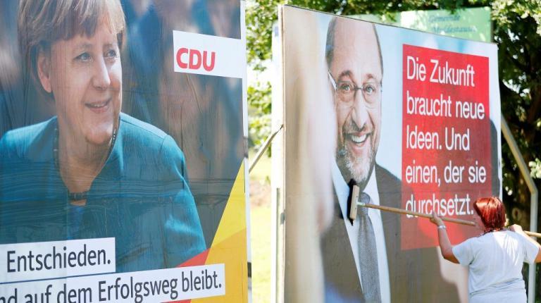 Debate Μέρκελ – Σουλτς: «Με την πλάτη στον τοίχο, θέλει να πάει για καβγά…» | Newsit.gr