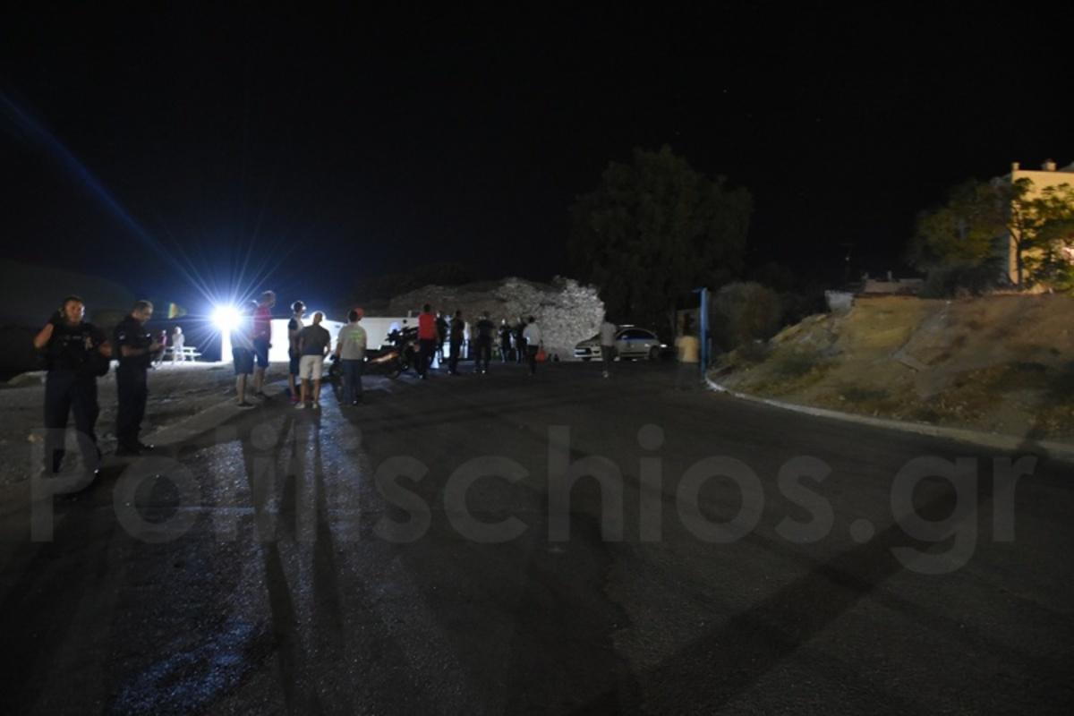 Χίος: Κόλαση με μαχαιρώματα και τραυματίες στον καταυλισμό της Σούδας – Δύο άτομα στο νοσοκομείο [pic] | Newsit.gr
