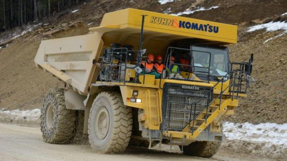 Το μεγαλύτερο ηλεκτρικό όχημα του κόσμου έχει μπαταρίες βάρους 4,5 τόνων! | Newsit.gr