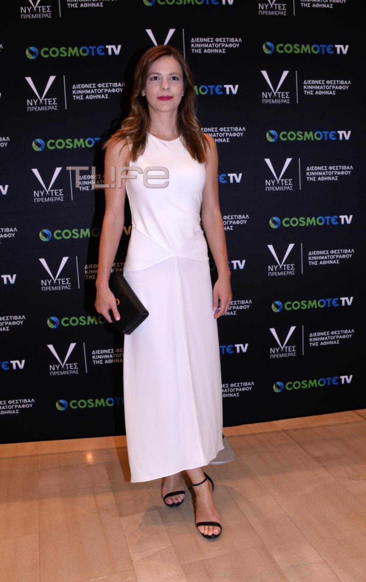 Έφη Αχτσιόγλου: Εντυπωσιακή εμφάνιση στην έναρξη του φεστιβάλ «Νύχτες Πρεμιέρας» | Newsit.gr