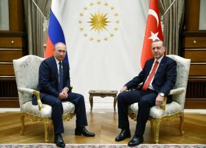 Στην Άγκυρα ο Πούτιν – Σε εξέλιξη η συνάντηση με τον Ερντογάν [pics]
