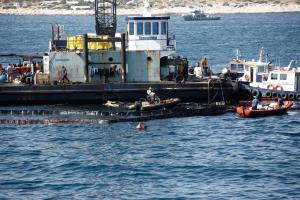 """""""Αγία Ζώνη ΙΙ"""": 2 εκατ. ευρώ χρωστά ο πλοιοκτήτης στο Δημόσιο – Κίνδυνος για νέα διαρροή!"""