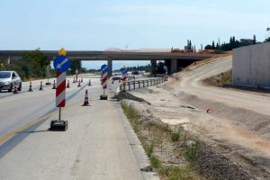 Εργασίες συντήρησης στην εθνική οδό Θεσσαλονίκης – Νέων Μουδανίων