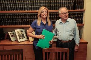 Κεντροαριστερά: Υποψήφια η Φώφη με 1.000 υπογραφές νέων – Και ο Νίκος Ανδρουλάκης υποψήφιος