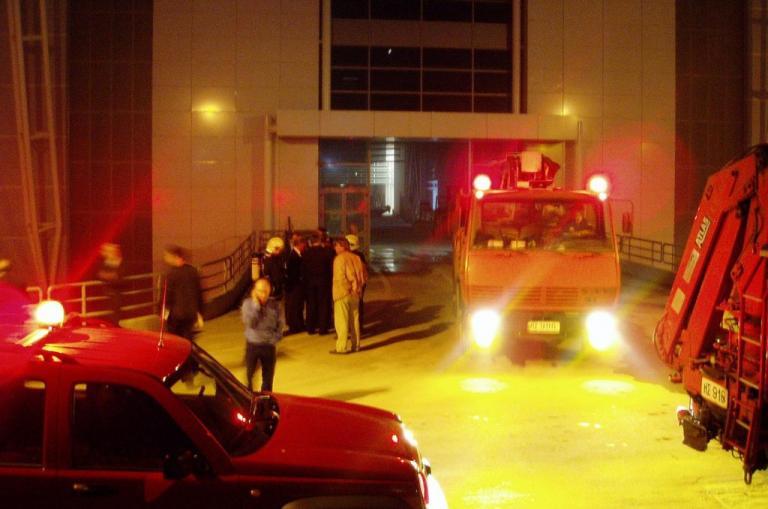Μεγάλη φωτιά στο νοσοκομείο Αγιος Σάββας | Newsit.gr