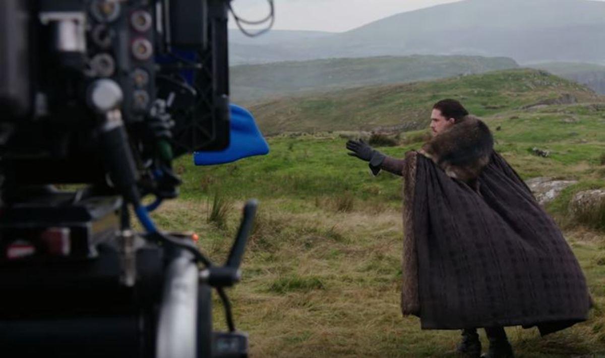 Game of Thrones: Πώς γυρίστηκε η σκηνή του Jon Snow με τον δράκο   Newsit.gr