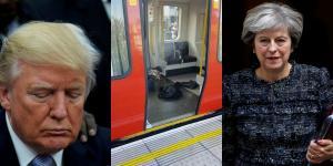 Τρομοκρατική επίθεση στο Λονδίνο: «Σκοτωμός» Τραμπ – Μέι