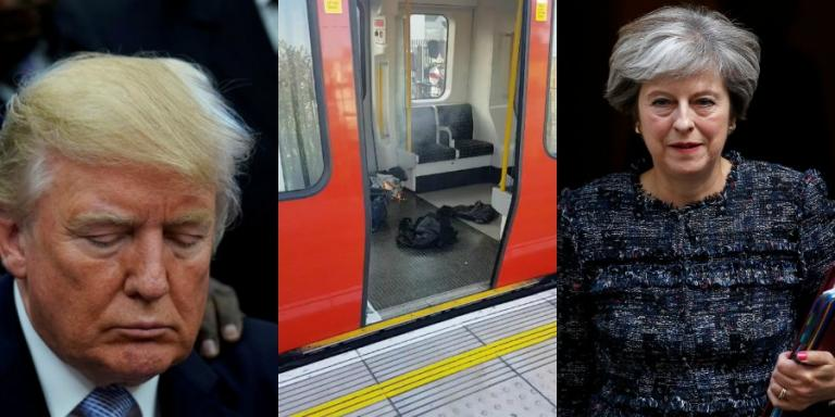 Τρομοκρατική επίθεση στο Λονδίνο: «Σκοτωμός» Τραμπ – Μέι | Newsit.gr