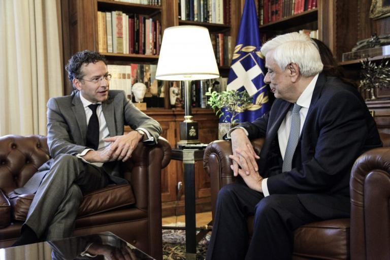 Παυλόπουλος σε Ντάισελμπλουμ:  Τηρήστε αυτά για τα οποία έχετε δεσμευθεί | Newsit.gr