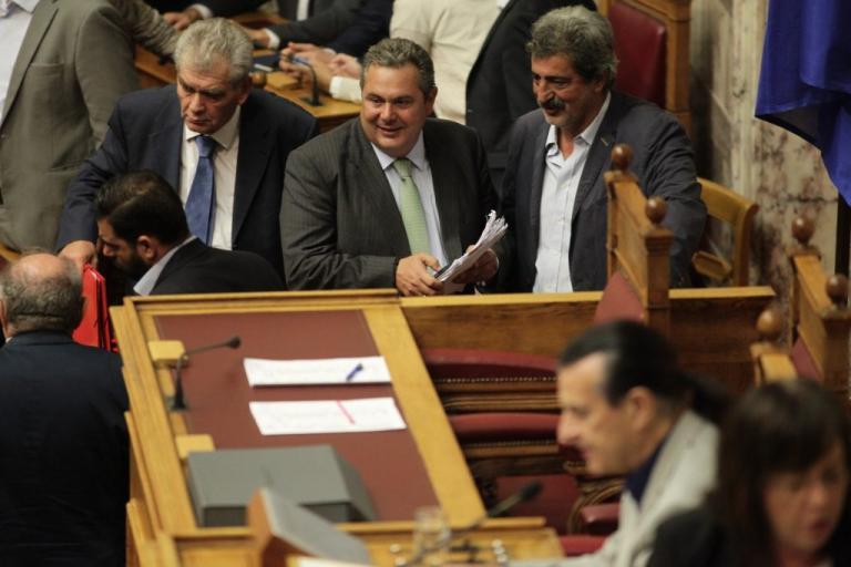 Βουλή: Απορρίφθηκε η πρόταση της ΝΔ για σύσταση εξεταστικής για τον Πάνο Καμμένο | Newsit.gr