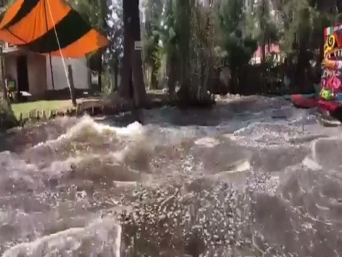 Σεισμός στο Μεξικό: Στιγμές τρόμου για τουρίστες στο Xochimilco! [vid]   Newsit.gr