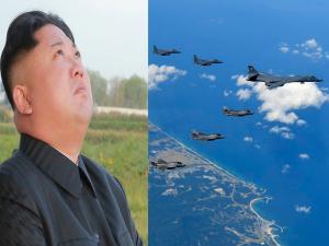 «Ξύνονται» στη… γκλίτσα του Κιμ Γιονγκ ουν! «Βομβαρδισμός» από ΗΠΑ και Νότια Κορέα [pics]