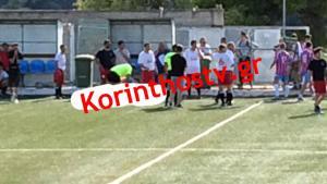 Ποδοσφαιριστής πέθανε μέσα στο γήπεδο! Τραγωδία στην Κόρινθο [vid]