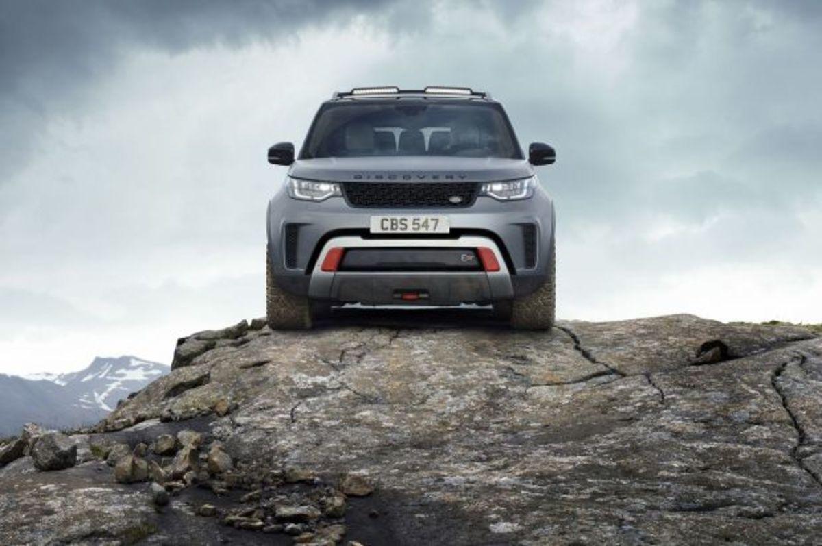 "Land Rover Discovery SVX: Ένα ""αγριοκάτσικο"" με τέσσερις τροχούς! [vid]   Newsit.gr"