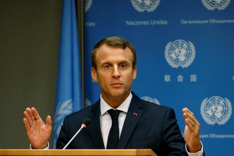Μακρόν: Δεν διαπραγματευόμαστε την συμφωνία για το κλίμα | Newsit.gr