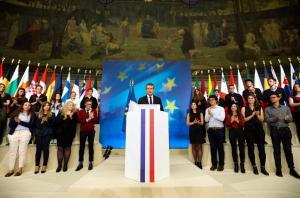 Μακρόν: Παρουσίασε την… Ευρώπη του
