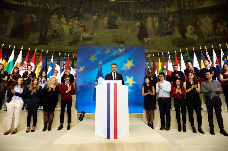 Μακρόν: Παρουσίασε την… Ευρώπη του | Newsit.gr
