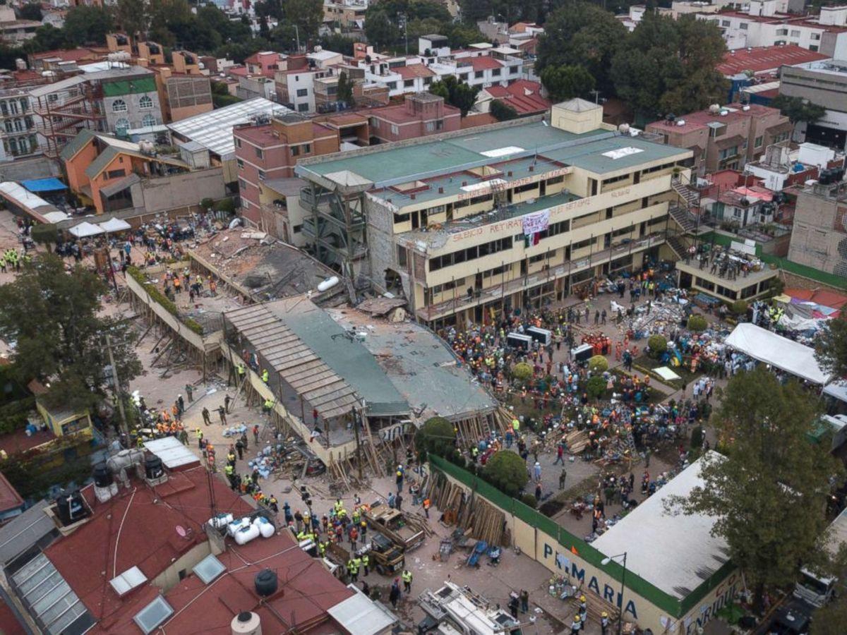 Μεξικό σεισμός
