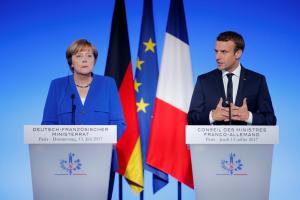Μέρκελ: Πορευόμαστε μαζί με την Γαλλία για το μέλλον της Ευρώπης