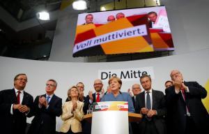 Γερμανικές εκλογές – Μέρκελ: Ελπίζαμε σε καλύτερο αποτέλεσμα [pics, vid]