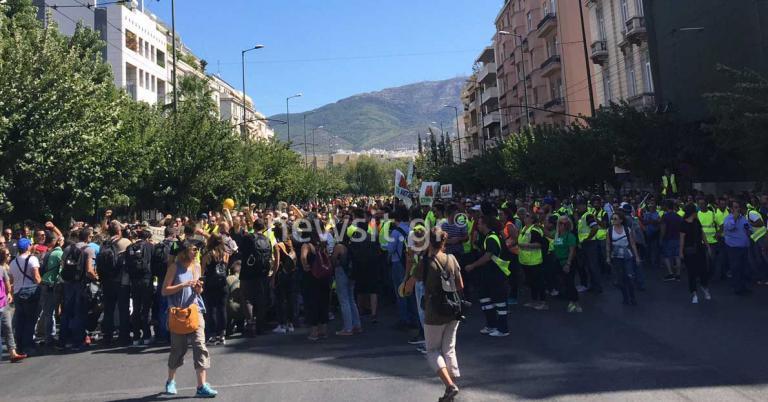 Πορεία στο Μαξίμου και στη Βουλή κάνουν οι μεταλλωρύχοι – Ποιοι δρόμοι είναι κλειστοί | Newsit.gr