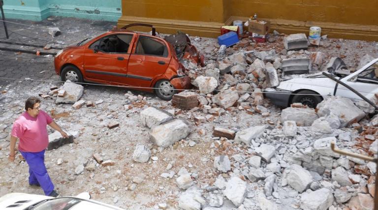 Σεισμός στο Μεξικό: Εικόνες απόλυτης καταστροφής! [pics, vids]   Newsit.gr