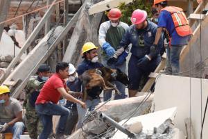 Μεξικό – σεισμός: Εικόνες απόλυτης καταστροφής – Μάχη με το χρόνο για να σωθεί 12χρονο κοριτσάκι
