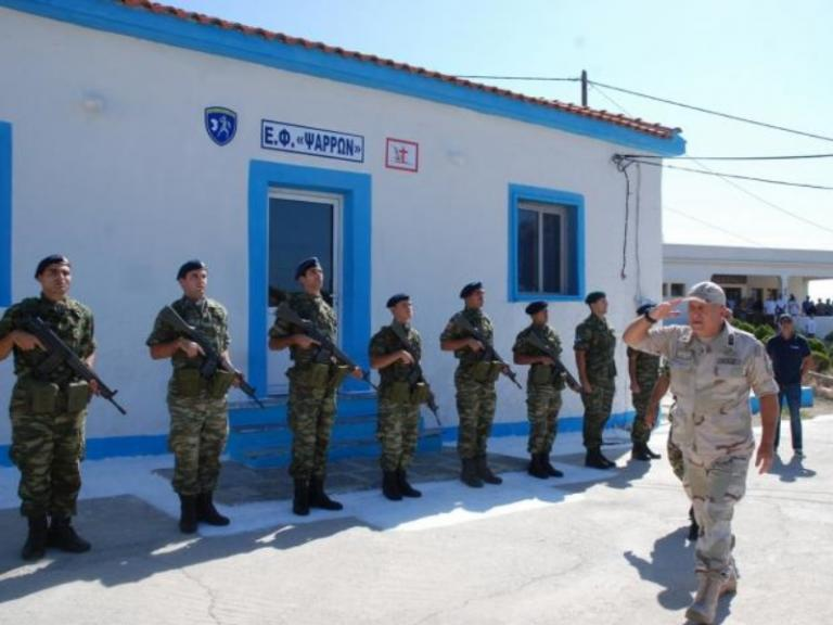 Ο Αρχηγός των Ενόπλων Δυνάμεων στα Ψαρά [pics] | Newsit.gr