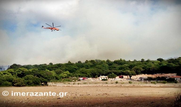 Φωτιά στη Ζάκυνθο κοντά σε μοναστήρι [pics] | Newsit.gr