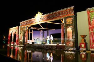 Πρέβεζα: Διαλύθηκε η ξακουστή «Όπερα του Νερού» από τους ισχυρούς ανέμους