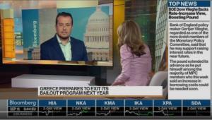 Νίκος Παππάς στο Bloomberg: Να τηρήσουν όλοι όσα συμφωνήθηκαν!