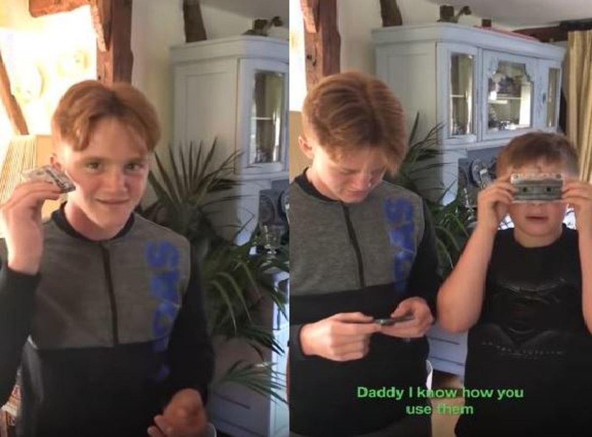 Παιδιά δεν έχουν ιδέα πώς λειτουργεί η κασέτα | Newsit.gr