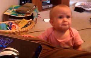 Αυτό το μωρό δεν αντέχει να ακούει τη λέξη «όχι»