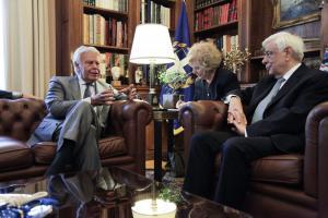 Παυλόπουλος: Συνάντηση με τον πρώην Ισπανό πρωθυπουργό