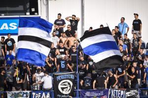 Ένταση μεταξύ οπαδών της ΑΕΚ και του Ατρομήτου στο Περιστέρι!